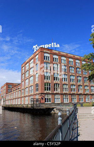 Old Tampella factory in Tampere, Finland - Stock Photo