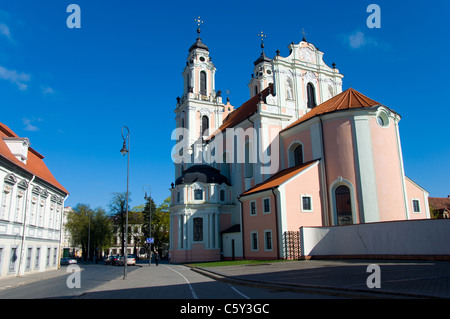 St. Catherine's Church, Vilnius, Lithuania - Stock Photo