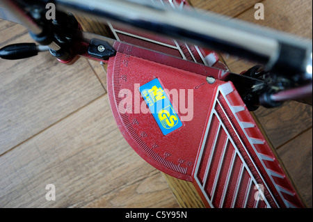 mitre joint wood saw england uk - Stock Photo