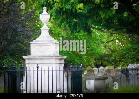 Hogarth's grave - Stock Photo