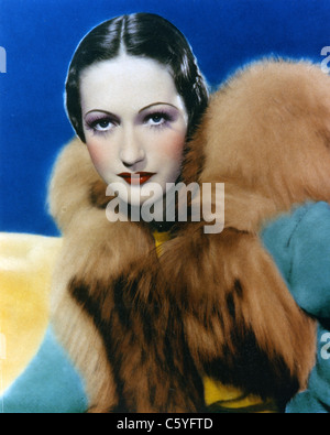 DOROTHY LAMOUR (1914-1996) US film actress about 1936 - Stock Photo