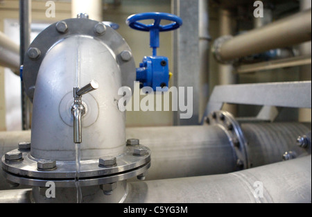 Water Tanks and Waterworks in Germany / Wasserwerk Leitzentrale / Wasserversorgung / Trinkwasser / 2011 / Mandoga - Stock Photo