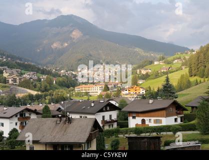 Ortisei (St Ulrich), Val Gardena, Trentino-Alto Adige, Italy - Stock Photo
