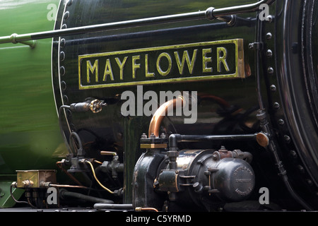 B1 Class steam locomotive, 'Mayflower' - Stock Photo