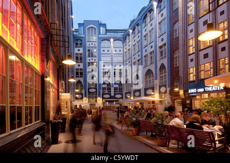 hackescher markt at night berlin germany stock photo royalty free image 15122644 alamy. Black Bedroom Furniture Sets. Home Design Ideas