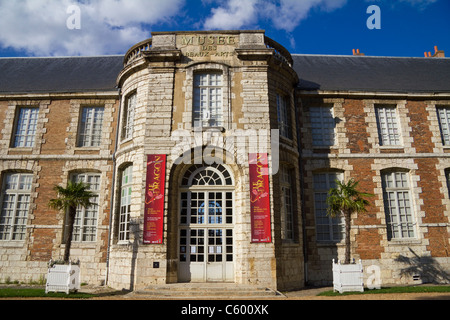 Musee des Beaux Arts, Museum of fine art, Chartres France - Stock Photo