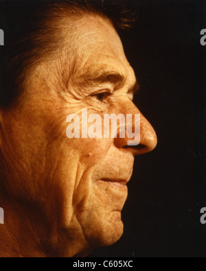 RONALD REAGAN (1911-2004)  as 40th President of the United States - Stock Photo