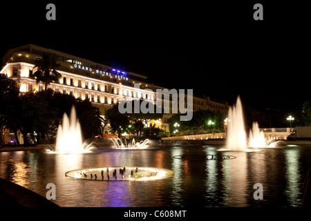 Place Massena, Nice, France - Stock Photo