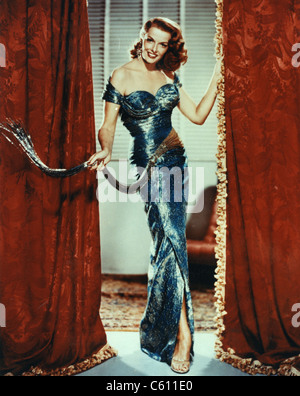 JANE RUSSELL (1921-2011) US film actress about 1955 - Stock Photo