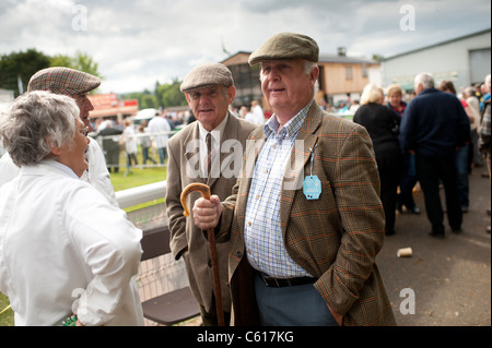 Farmers at the Royal Welsh Agricultural Show, Builth Wells, Wales, 2011 - Stock Photo