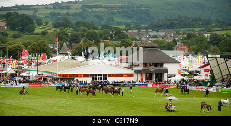 General view Royal Welsh Agricultural Show, Builth Wells, Wales, 2011 - Stock Photo