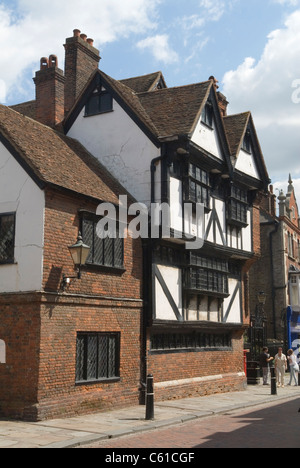 Rochester Kent UK. Eastgate House in the High Street. - Stock Photo