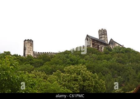 Bezdez castle, Czech Republic - Stock Photo