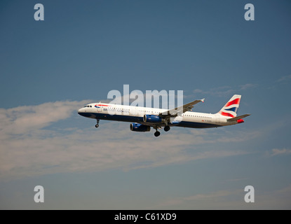 British Airways Airbus A321-231 Airliner  SCO 7554 - Stock Photo