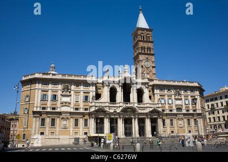 The Papal Basilica di Santa Maria Maggiore, Rome, Italy. - Stock Photo