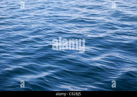 top of ocean waves - Stock Photo