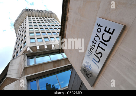 Ministry of Justice building, London, Britain, UK - Stock Photo