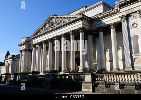 The Fitzwilliam Museum, Trumpington Street, Cambridge, England, UK - Stock Photo
