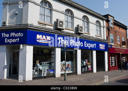 Max Spielmann The Photo Expert shop in Worksop Notts UK - Stock Photo