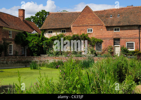 Flatford Mill, in Essex, England. - Stock Photo
