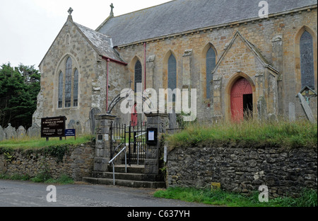 St Michael & All Angels Church, Bude, Cornwall - Stock Photo