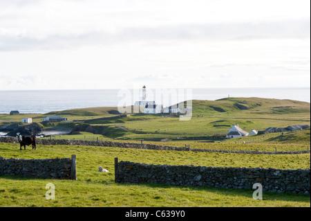 Houses on Fair Isle, Shetland Stock Photo, Royalty Free Image ...