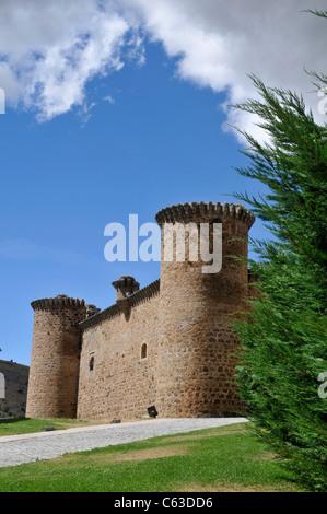 Castle: El Barco de Avila, Spain. - Stock Photo