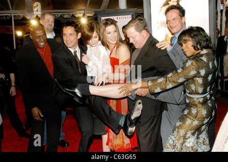 Ernie Hudson, Enrique murciano, Heather Burns, Sandra Bullock, William Shatner, Diedrich Bader and Regina King at - Stock Photo
