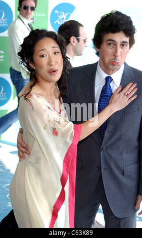 Sandra Oh, Alexander Payne at arrivals for 20th IFP Independent Spirit Awards, Los Angeles, CA, Saturday, February - Stock Photo