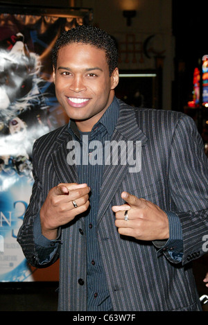 Texas Battle at arrivals for FINAL DESTINATION 3 Premiere, Grauman's Chinese Theatre, Los Angeles, CA, February - Stock Photo