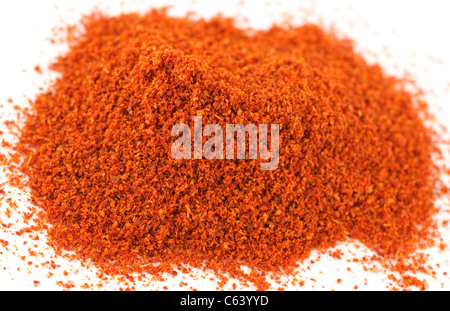 Pile of Cayenne chilli pepper - Stock Photo
