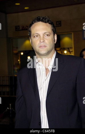 Vince Vaughn at arrivals for BE COOL Premiere, Grauman's Chinese Theater, Los Angeles, CA, February 14, 2005. Photo - Stock Photo