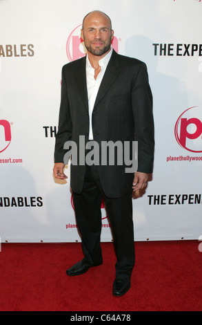 Randy Couture at arrivals for THE EXPENDABLES Premiere, Planet Hollywood Resort and Casino, Las Vegas, NV August - Stock Photo