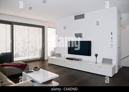 Innenaufnahme eines modernen Wohnzimmers - Stock Photo