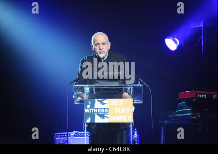 Peter Gabriel in attendance for WITNESS 6th Annual Focus for Change: Benefit Dinner and Concert, Roseland Ballroom, - Stock Photo