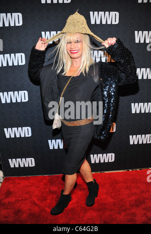 Betsey Johnson at arrivals for Women's Wear Daily (WWD) 100th Anniversary Gala, Cipriani Restaurant 42nd Street, - Stock Photo