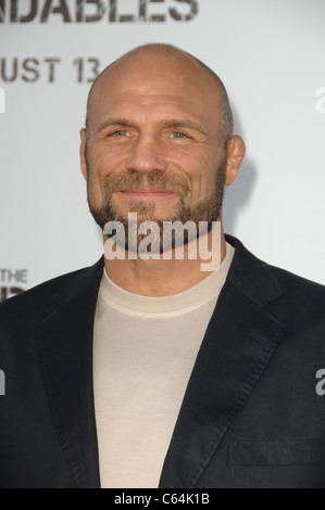 Randy Couture at arrivals for THE EXPENDABLES Premiere, Grauman's Chinese Theatre, Los Angeles, CA August 3, 2010. - Stock Photo