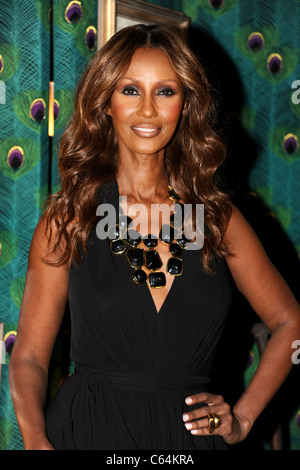 Iman out and about for Mercedes-Benz Fashion Week Candids - THU, Lincoln Center, New York, NY September 9, 2010. - Stock Photo