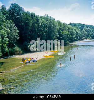 Canoe kayak dans l ain