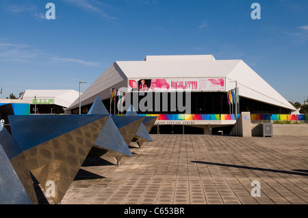 Adelaide, Australia - October 17, 2008: Adelaide Festival Centre, home of the performing arts in south australia - Stock Photo