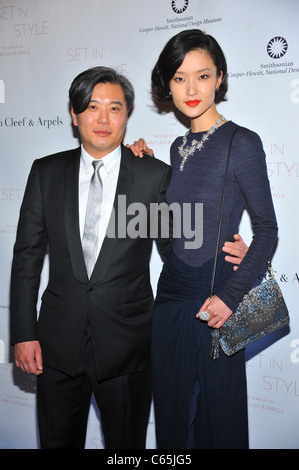 Du Juan (right) at arrivals for Set In Style: The Jewelry of Van Cleef & Arpels Opening Gala, Smithsonian Cooper - Stock Photo