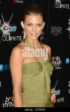 AnnaLynne McCord at arrivals for 2010 Breakthrough of the Year Awards, Pacific Design Center, Los Angeles, CA August - Stock Photo