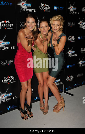 Rachel McCord, AnnaLynne McCord, Angel McCord at arrivals for 2010 Breakthrough of the Year Awards, Pacific Design - Stock Photo