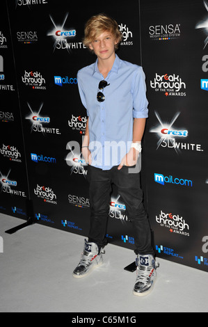 Cody Simpson at arrivals for 2010 Breakthrough of the Year Awards, Pacific Design Center, Los Angeles, CA August - Stock Photo