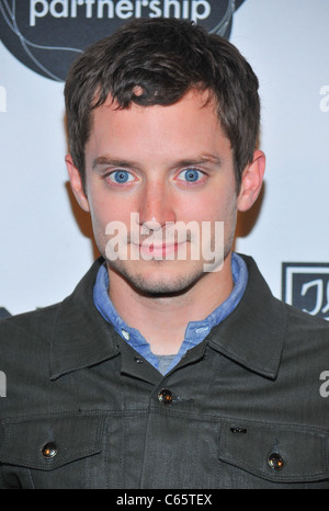 Elijah Wood at the after-party for MONTBLANC 10th Annual Urban Arts Partnership Benefit of The 24 Hour Plays After - Stock Photo