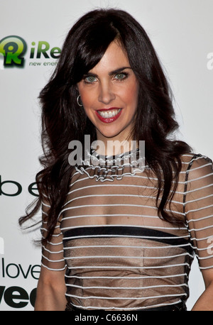 Caprice Crane at arrivals for LOVE WEDDING MARRIAGE Premiere, Pacific Design Center, Los Angeles, CA May 17, 2011. - Stock Photo