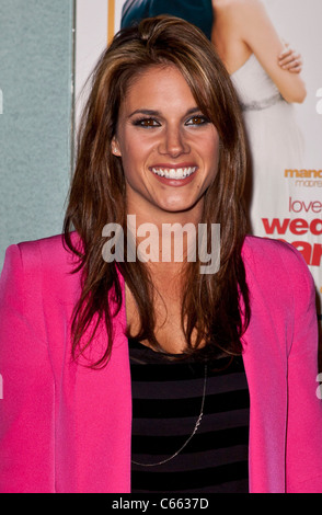 Missy Peregrym at arrivals for LOVE WEDDING MARRIAGE Premiere, Pacific Design Center, Los Angeles, CA May 17, 2011. - Stock Photo