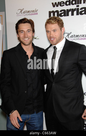 Ryan Eggold, Kellan Lutz at arrivals for LOVE WEDDING MARRIAGE Premiere, Pacific Design Center, Los Angeles, CA - Stock Photo