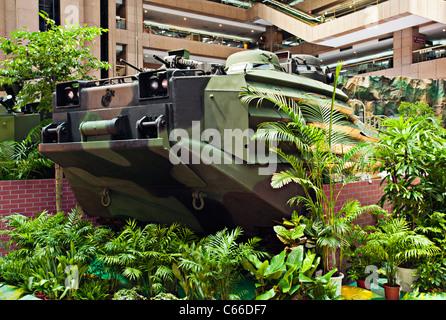 AAVP7 Amphibious Assault Vehicle, Taipei Aerospace Defense Technology Exhibition, 2011, Taiwan - Stock Photo