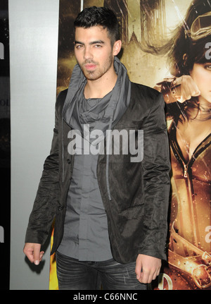 Joe Jonas at arrivals for SUCKER PUNCH Premiere, Grauman's Chinese Theatre, Los Angeles, CA March 23, 2011. Photo - Stock Photo